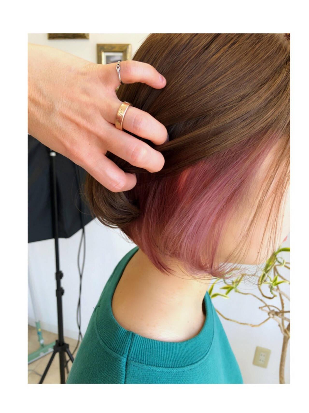 ヘアのアクセントになるデザインカラー 古藤 なつみ  Lala Hair&Spa