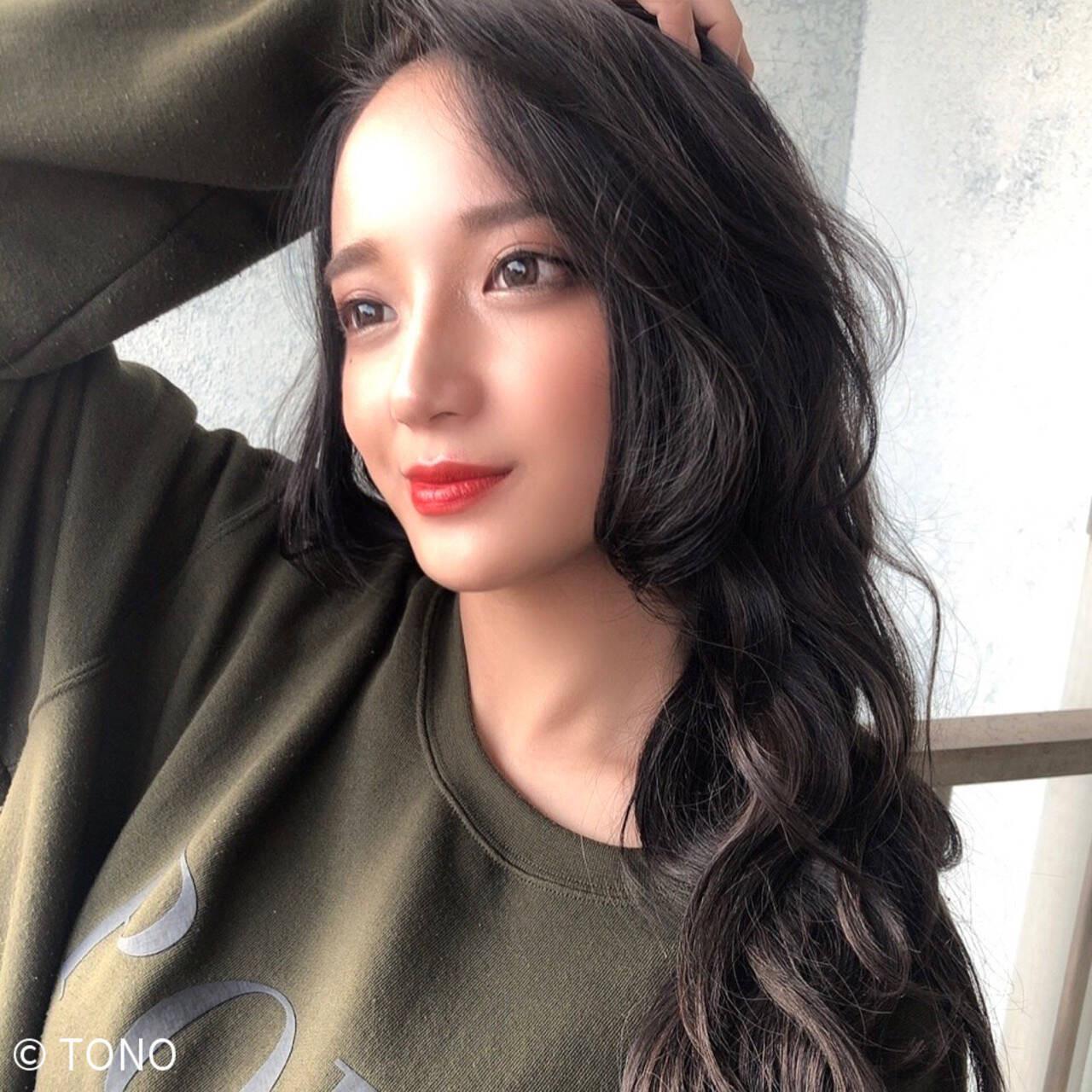 暗髪×たっぷりレイヤー TONO  Hair studio ARS