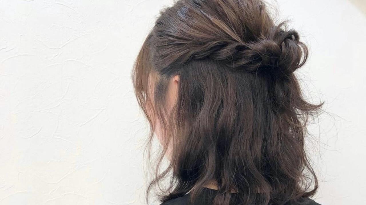 『今日の髪どうする?』簡単セルフヘアアレンジ【ロブ】