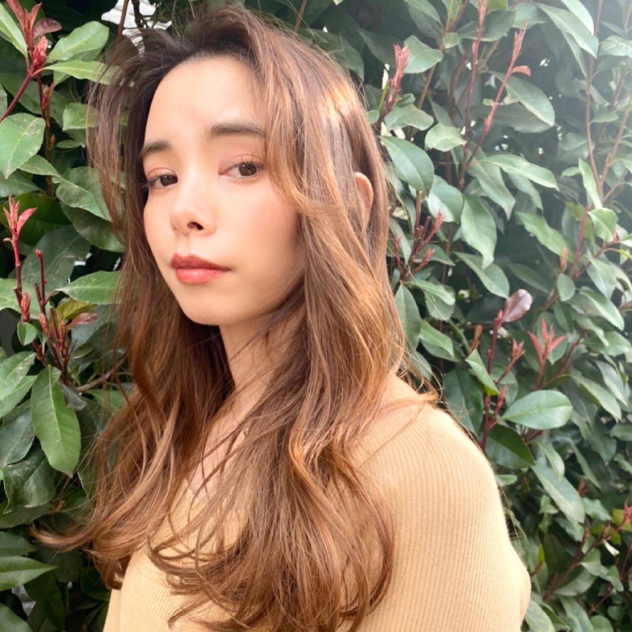 ふんわり前髪でムーディーに 鹿間真悠子  Gigi 表参道
