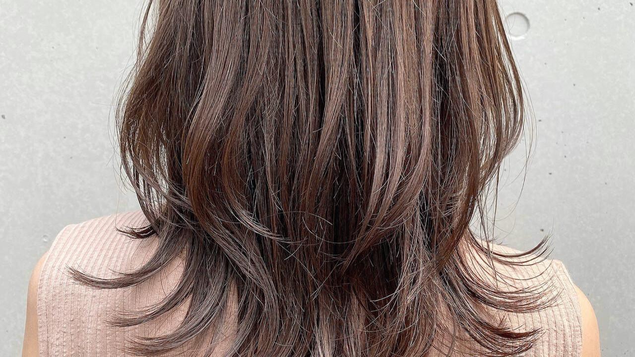長さは変えずに今っぽヘアになりたい!→「レイヤーカット」におまかせ♡