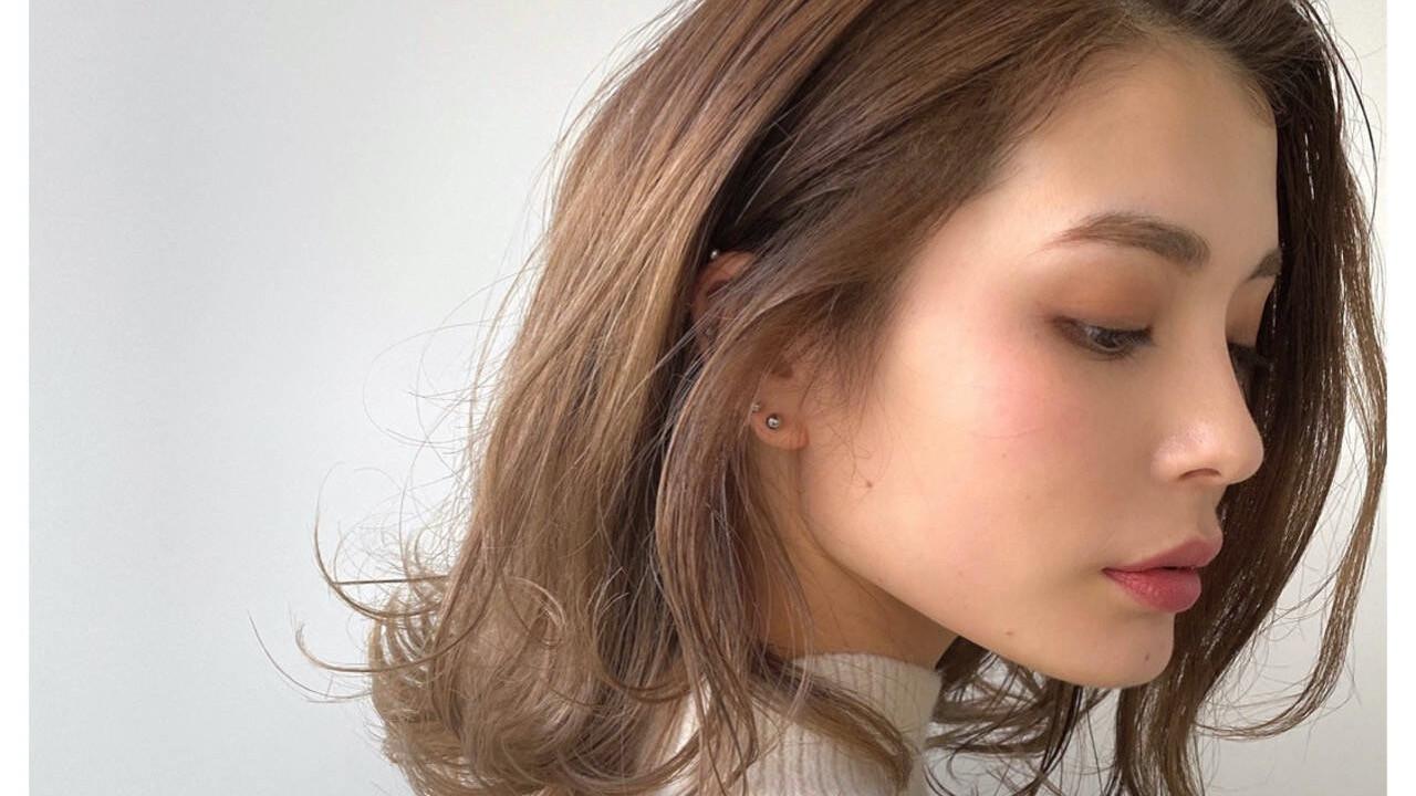 30代からの大人を魅せる「こなれ美人ヘア」【前髪なし】