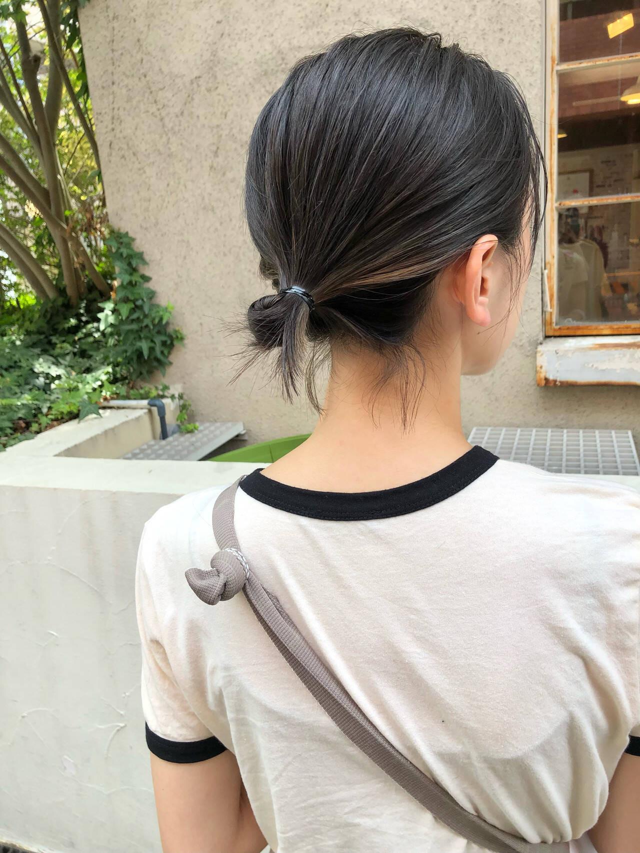 髪で隠せるように入れる 三好 佳奈美  Baco.(バコ)